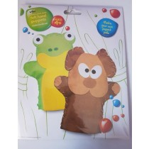 Wilko Make Your Own Felt Hand Puppets