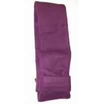 Ladies Fashionable Purple Fleece Scarf