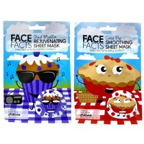 Face Facts Printed Sheet Mask - Stud Muffin & Cutie Pie - 20ml