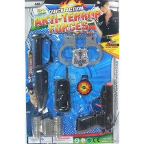 Quick Action Anti-Terror Force Armour Toy Set - 43.5 X 28.5cm - For Ages 3+