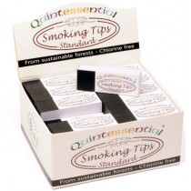 Quintessential Standard Smoking Tips - Chlorine Free - Pack Of 50 Booklets