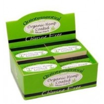 QUINTESSENTIAL ORGANIC HEMP COATED MAXI PACK SMOKING TIPS - CHLORINE FREE - PACK OF 20 BOOKLETS