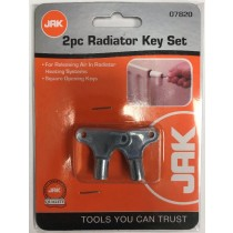 JAK Radiator Key Set - Pack of 2