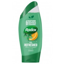 Radox Feel Refreshed Shower Gel with Citrus Oil & Eucalyptus - 250ml