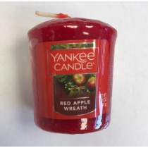 Yankee Candle - Samplers Votive Scented Candle - Red Apple Wreath - 50g
