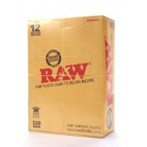 RAW PLASTIC CIGARETTE ROLLING MACHINE - KINGSIZE - 110mm - BOX OF 12