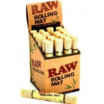 Raw Rolling Mat - Natural Bamboo Rolling Mat - Box Of 24