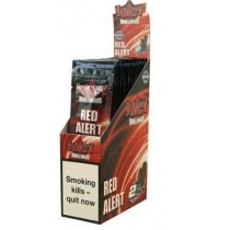 Juicy Double Blunt Wraps - Red Alert - Pack Of 50 (25 X 2)