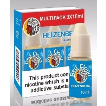 Red Cloud Dripper E-Liquid - Heizen - 3Mg - 10Ml - Pack Of 3