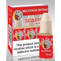 Red Cloud Dripper E-Liquid - Sculptor - 3Mg  - 10Ml - Pack Of 3