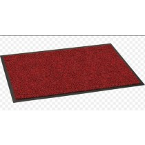 Door Mat - Dark Red - 40cm x 60cm