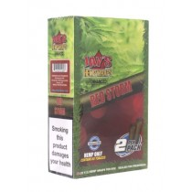 Jay's Hemp Wraps - Red Storm - Pack Of 50 (25 X 2)