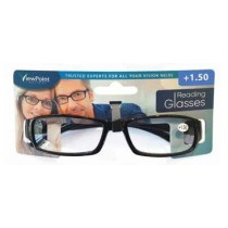 Calani Eyewear Reading Glasses - Black - +1.50 - Price Marked £4.99