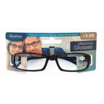 Calani Eyewear Reading Glasses - Black - +3.50 - Price Marked £4.99