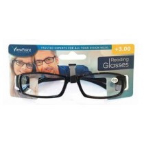 Calani Eyewear Reading Glasses - Black - +3.00 - Price Marked £4.99