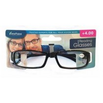 Calani Eyewear Reading Glasses - Black - +4.00 - Price Marked £4.99