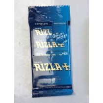 Rizla Ultra Thin Blue Regular Cigarette Paper - Pack of 5 Booklets