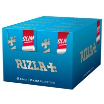 Rizla Slim Filter Tips - 150 Filter Tips Per Box - Box Of 10