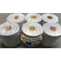 Blue Sirius 80 Meter 400 Sheet Super Soft/Absorbent Laminated Embossed Contract Centre Feed Tissue Paper - 2 Ply