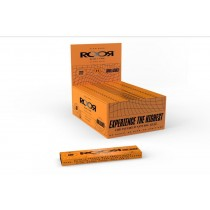 ROOR CBD Slow Burn Ultra Thin Unbleached Rolling Papers + Tips - Slim - Pack of 32
