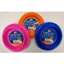 Pet Touch Crawling Insect Free Dog Bowl - 16cm - Assorted Colours
