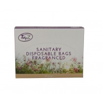 Tidyz Fragranced Sanitary Disposable Bags with Handle - 170 x 260mm - Pack of 50 Bags