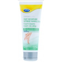 Scholl Expert Care Fast Moisture Foot Cream for Dry Skin - 75ml - Exp: 02/22