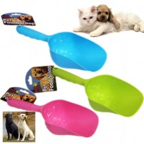 Pet Touch Pet Food Scoop - 33 x 11.5cm - Colours May Vary