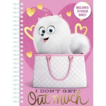 Secret Life Of Pets A5 Note Book Includes A Sticker Sheet