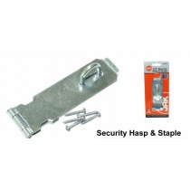 Security Hasp & Staple - 4.5""