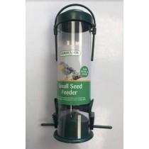 Garden & Co. Small Seed Feeder with Bird Perch