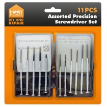 Handy Homes Precision Screwdriver Set - Assorted Set - 11 Piece