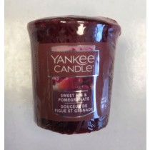 Yankee Candle - Samplers Votive Scented Candle - Sweet Fig & Pomegranate - 50g