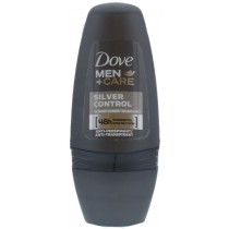 Dove Mens Roll On Antiperspirant - Silver Control - 50ml