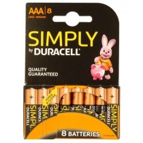 Duracell Aaa Battery - Pack Of 8