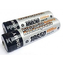 Lithium Ion 18650 Battery - 4800Mah - Pack of 2