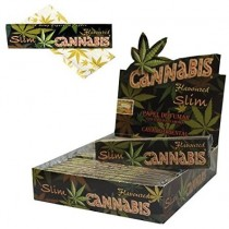 Flavoured Cigarette Rolling Paper - Cannabis - Oriental Hemp - Slim - Pack of 25
