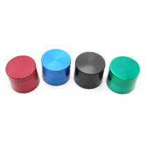 Hand Muller 3 Piece Small Metal Tobacco Grinder - Assorted Colours