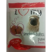 Give A Dog A Treat - Smoked-Baked Paw Treats - Contains Real Meat
