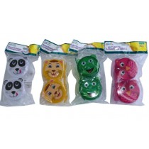 Snack Containers - Bpa Free - 4 Assorted Colours - Pack Of 2