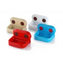Asude Suction Soap Dish - Assorted Colours