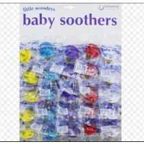 Little Wonders Baby Soothers - Assorted Colours