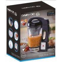 Daewoo Electricals 1.7L Glass Soup Maker with Pulse Action - 34.5 x 27.5 x 20cm