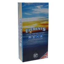 "Elements Ultra Thin Rice Papers - Super Size - 12"" - Box of 22"