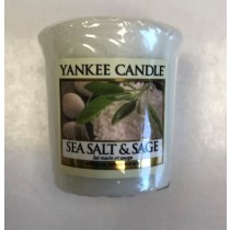Yankee Candle - Samplers Votive Scented Candle - Sea Salt & Sage - 50g
