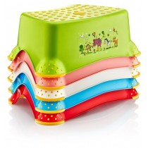 Baby Design Dual Colour Child Ladder - Colours May Vary - 40 x 25 x 15cm