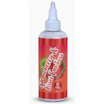 Premium E Liquid - Strawberry & Kiwi Fantasi - 0Mg - 80Ml