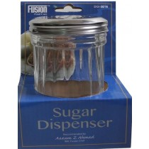 Jumbo Glass Jar Sugar Dispenser