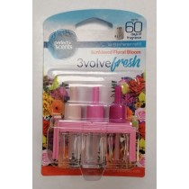 Perfect Scents - 3volve Fresh - Air Freshener Refill - Pack Of 3 - Sun Kissed Floral Bloom