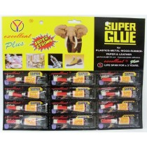 Excellent Super Plus Glue - 3 Grams - Pack of 12